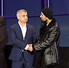 Mayor of London and London Assembly results announcement at City Hall, London, Great Britain <br /> 6th May 2016 <br /> <br /> <br /> <br /> Sadiq Khan - Labour <br /> <br /> Ankit Love - One Love Party<br /> <br /> <br /> <br /> The winner was Sadiq Khan who is appointed the new mayor of London <br /> <br /> <br /> <br /> Photograph by Elliott Franks <br /> Image licensed to Elliott Franks Photography Services