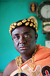 The Chief of Odumase in the Brong Ahafo region was the representative of the traditional chieves of the region and met the President of Ghana, Mr Kufour, several times