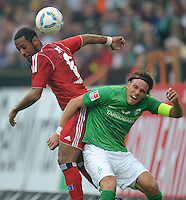 Fussball Bundesliga 2011/12: SV Werder Bremen - Hamburger SV