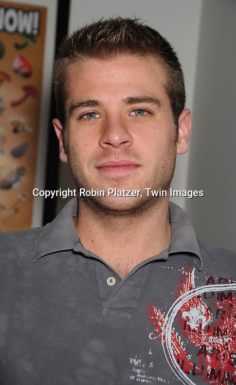 actor Scott Evans of One Life to Live
