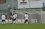 Sandhausen 19.04.2008, Kopfball von Ali Gerba (Ingolstadt) in der Regionalliga S&uuml;d 2007/08 SV Sandhausen 1916 - FC Ingolstadt 04<br /> <br /> Foto &copy; Rhein-Neckar-Picture *** Foto ist honorarpflichtig! *** Auf Anfrage in h&ouml;herer Qualit&auml;t/Aufl&ouml;sung. Belegexemplar erbeten.