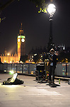 London South Bank busker