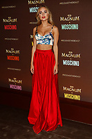 Kimberley Garner arrives at the Magnum X Moschino party during the 70th Annual Cannes Film Festival at Plage l'Ondine in Cannes, France, on 18 May 2017. Photo: Hubert Boesl - NO WIRE SERVICE · Photo: Hubert Boesl/dpa /MediaPunch ***FOR USA ONLY***