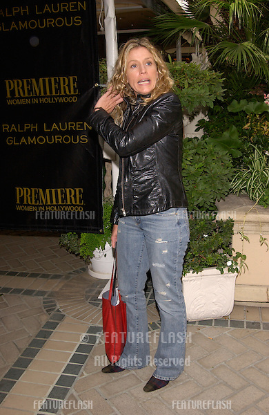 Actress FRANCES McDORMAND at Premiere Magazine's Women in Hollywood luncheon at the Four Seasons Hotel, Beverly Hills. She was honored with the magazine's Icon Award..22OCT2001.  © Paul Smith/Featureflash