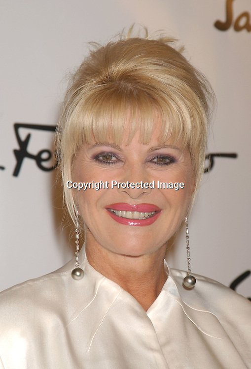 Ivana Trump ..at the Salvatore Ferragamo NYC Flagship Store opening on ...