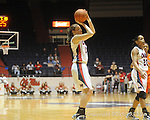 Ole Miss' Elizabeth Robertson vs. Auburn in women's college basketball at the C.M. &quot;Tad&quot; SMith Coliseum in Oxford, Miss. on Thursday, February 25, 2010.