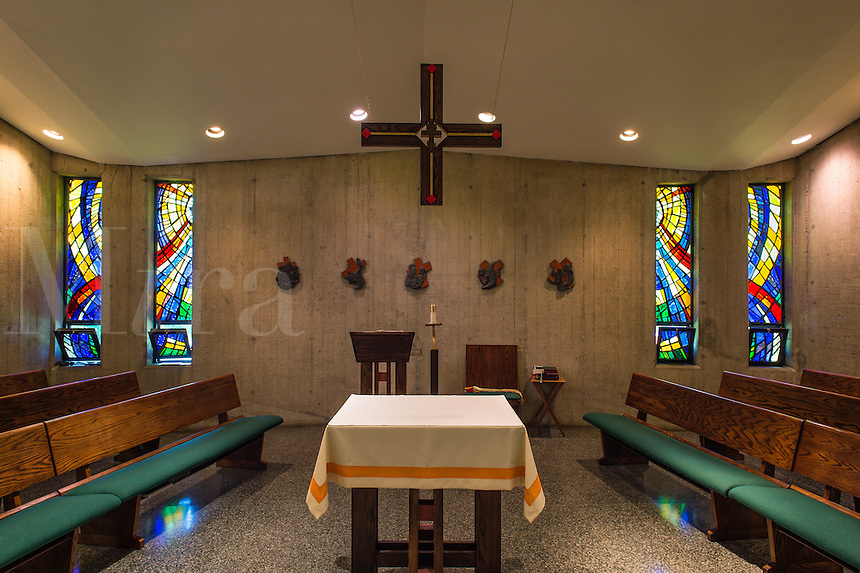 Community chapel, Daylesford Abbey, Paoli, Pennsylvania