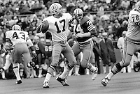 Washington Redskins QB Billy Kilmer, against the  49ers...play off game ( 1971 photo by Ron Riesterer)