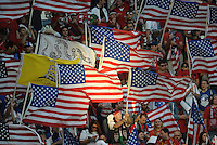 U.S Fans.USMNT defeated Guatemala 3-1 in World Cup qualifying play at LIVESTRONG Sporting Park, Kansas City, KS.