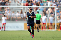Cary, North Carolina  - Sunday May 21, 2017: Debinha jogs off the field while being substituted for during a regular season National Women's Soccer League (NWSL) match between the North Carolina Courage and the Chicago Red Stars at Sahlen's Stadium at WakeMed Soccer Park. Chicago won the game 3-1.