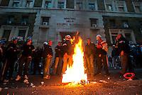 Protesta operai Alcoa