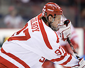 Matt Gilroy (BU - 97) - The Boston University Terriers defeated the University of Maine Black Bears 1-0 (OT) on Saturday, February 16, 2008 at Agganis Arena in Boston, Massachusetts.