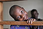 A girl in the Mary Morris Orphanage, run by the United Methodist Church in Kamina, Democratic Republic of the Congo.
