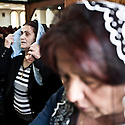 Iraq - Kurdistan - Ankawa - Christian women praying inside St Joseph Cathedral.