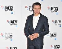 Jeremy Renner at the &quot;Arrival&quot; prerss conference &amp; photocall, Corinthia Hotel, Northumberland Avenue, London, England, UK, on Tuesday 11 October 2016.<br /> CAP/CAN<br /> &copy;CAN/Capital Pictures /MediaPunch ***NORTH AND SOUTH AMERICAS ONLY***