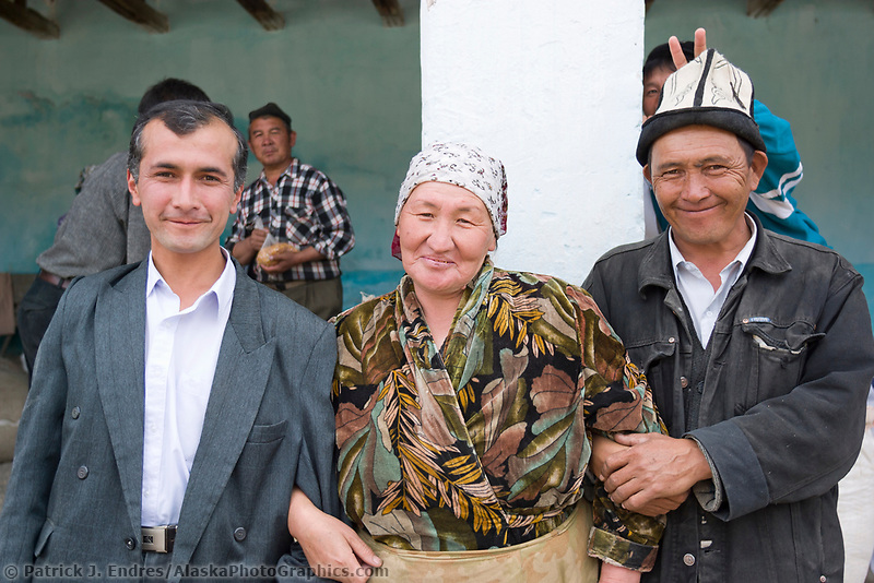 The Market in Osh, Kyrgyzstan, Central Asia