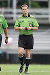 07 September 2014: Assistant referee Benjamin Wooten. The Duke University Blue Devils hosted the Penn State University Nittany Lions at Koskinen Stadium in Durham, North Carolina in a 2014 NCAA Division I Women's Soccer match. PSU won the game 4-3.