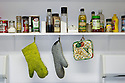 WY00469-00...WYOMING - Kitchen shelf in the Lamar Buffalo Ranch, Yellowstone National Park.
