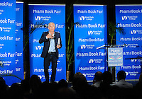 MIAMI, FL - NOVEMBER 13: Jorge Ramos speak and sign copies of his book 'Take A Stand Lessons From Rebels' during 33rd Annual Miami Book Fair at Miami Dade College on November 13, 2016 in Miami, Florida.  Credit: MPI10 / MediaPunch