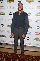 LOS ANGELES, CA - SEPTEMBER 19: Henry Simmons at the premiere of ABC's 'Agents of Shield' Season 4 at Pacific Theatre at The Grove on September 19, 2016 in Los Angeles, California.  Credit: David Edwards/MediaPunch