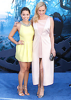 HOLLYWOOD, LOS ANGELES, CA, USA - MAY 28: Jessica Parker Kennedy, Hannah New at the World Premiere Of Disney's 'Maleficent' held at the El Capitan Theatre on May 28, 2014 in Hollywood, Los Angeles, California, United States. (Photo by Xavier Collin/Celebrity Monitor)