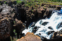 Bourke's Luck Potholes is the result of erosion and marks the beginning of the Blyde River Canyon of South Africa.