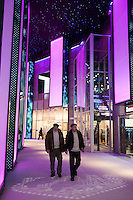 Moscow, Russia, 12/03/2011..Saturday afternoon shoppers in Vegas, the largest shopping mall in Russia, built by Crocus International, a real estate development company owned and run by Aras Agalarov and his son Emin.