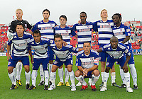 24 July 2010:   FC Dallas starting eleven during a game between FC Dallas and Toronto FC at BMO Field in Toronto..The final score was a 1-1 draw...
