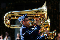 Military members march during the annual Veterans Day parade in New York.  10.11.2014. Eduardo Munoz Alvarez/VIEWpress