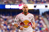 Joel Lindpere (20) of the New York Red Bulls. The New York Red Bulls defeated DC United 3-2 during a Major League Soccer (MLS) match at Red Bull Arena in Harrison, NJ, on June 24, 2012.