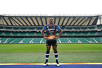 """Bath Rugby Photocall for """"The Clash"""" on March 16, 2017 at Twickenham Stadium in London, England. Photo by: Patrick Khachfe / Onside Images"""