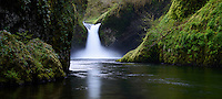 Punchbowl Falls on Eagle Creek along the Columbia River Gorge.