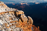 Sunrise view from Mather Point, Grand Canyon national park, Arizona, USA