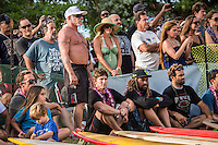Waimea Bay, North Shore of Oahu, Hawaii.  December 4 2014) Eddie Rothman (HAW). - The Opening Ceremony of the 2014 Quiksilver In Memory of Eddie Aikau contest was held this afternoon in the park at Waimea Bay. This winter, the big wave riding event celebrates a special milestone of 30 years. <br /> The Quiksilver In Memory of Eddie Aikau is a one-day big wave riding event that only takes place if and when waves meet a 20-foot minimum height, during the holding period of December 1 through February 28, each Hawaiian winter. The official Opening Ceremony with the Aikau Family will be held on Thursday, December 4th, 3pm, at Waimea Bay.<br />  <br /> &quot;The Eddie&quot; is the original big wave riding event and stands as the measure for every big wave event that exists in the world today. It has become an icon of surfing through its honor, integrity and rarity.<br />  <br /> The event honors Hawaiian hero Eddie Aikau, whose legacy is the respect he held for the ocean; his concern for the safety of all who entered it on his watch; and the way with which he rode Waimea Bay on its most giant and memorable days. <br />  <br /> Adherence to strict wave height standards has ensured its integrity; it is only held on days when waves meet or exceed the Hawaiian 20-foot minimum (wave face heights of approximately 40 feet). This was the threshold at which Eddie enjoyed to ride the Bay. It has been said that what makes The Eddie special is the times it doesn't run, because that is precisely its guarantee of integrity and quality days of giant surf.<br />  <br /> The competition has only been held a total of 8 times: it's inaugural year at Sunset Beach, and then seven more times at its permanent home of Waimea Bay. The Eddie was last held on December 9, 2009, won by California's Greg Long.   Photo: joliphotos.com