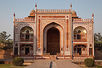 Agra, India.  North Pavilion, Gardens of the Itimad-ud-Dawlah.