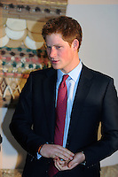 Prince Harry arrives at Barbados Airport to play in the inaugural Sentebale Polo Cup at Apes Hill Polo Club on Sunday, and undertake other engagements on the Island, including attending a Childrens Garden Party<br /> Pool picture supplied by UK Press Ltd