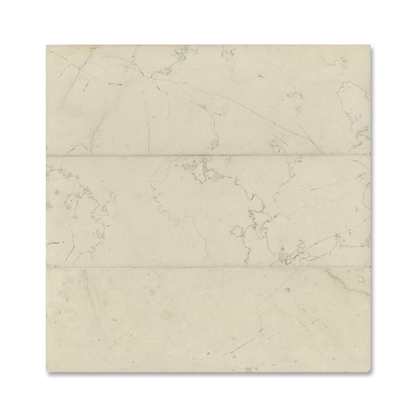 "Giovanni Barbieri 4"" x 12"" Bianco Antico available in Lucido or Timeworn finish."