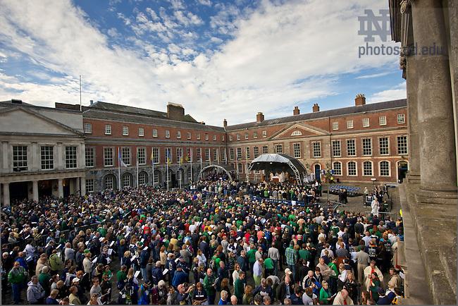 Sep. 1, 2012; Mass of Thanksgiving, Dublin Castle...Photo by Matt Cashore/University of Notre Dame