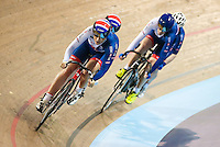 Picture by Alex Whitehead/SWpix.com - 05/03/2017 - Cycling - UCI Para-cycling Track World Championships - Velo Sports Center, Los Angeles, USA - Great Britain's Aileen McGlynn (piloted by Louise Haston)