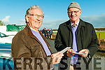 Listowel Coursing: Studying the form at  Listowel Coursing over the weekend  were Pat O'Connor & Vincent Purcell, Ballybunion.