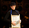 Sunny Afternoon <br /> at the Harold Pinter Theatre, London, Great Britain <br /> press photocall<br /> 24th October 2014 <br /> <br /> John Dagleish as Ray Davies<br /> <br /> <br /> <br /> <br /> Photograph by Elliott Franks <br /> Image licensed to Elliott Franks Photography Services