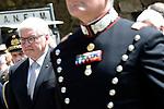 Il Presidente della Germania Frank-Walter Steinmeier alle Fosse Ardeatine