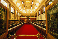 Legislative Chamber in BC Parliament Buildings - Victoria, British Columbia, Canada