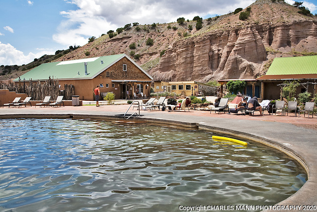 Ojo Caliente Mineral Springs Spa - photos - Images | Charles Mann ...