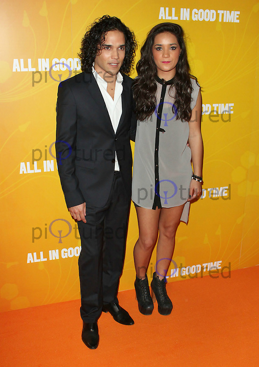LONDON - MAY 08: Reece Ritchie & Ria Ritchie attends the UK premiere of All In Good Time at BFI Southbank, London, UK, May 08 2012. (Photo by Brett D. Cove)