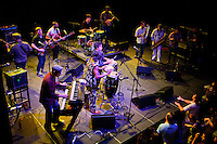 Antibalas performs at Union Transfer in Philadelphia on December 13, 2012.