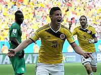 Colombia (COL) vs Costa de Marfil (CIV) FIFA Brasil 2014, 19-06-2014
