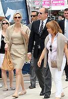 Prince Albert Of Monaco & Princess Charlene at the 2013 Monte Carlo Jumping