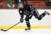 Michael Reardon (Bentley - 18) - The Harvard University Crimson defeated the visiting Bentley University Falcons 5-0 on Saturday, October 27, 2012, at Bright Hockey Center in Boston, Massachusetts.