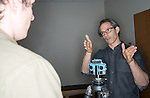 Josh Antonuccio, GRID Lab. © Ohio University / Photo by Ben Siegel
